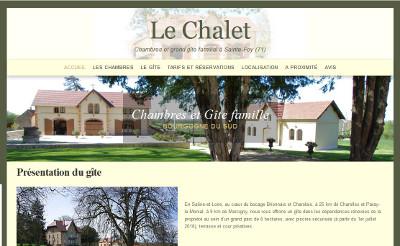 Gîte Le Chalet Sainte-Foy